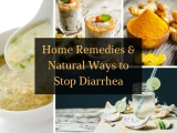 Home Remedies and Natural Ways to Stop Diarrhea