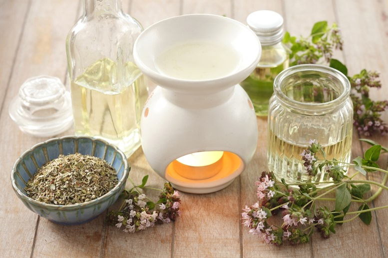 Oregano aromatherapy oil