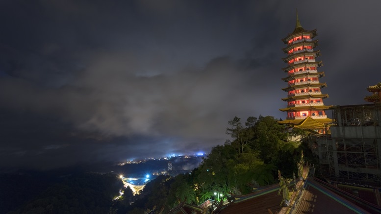 Pagoda at Chin Swee Temple, Genting Highland
