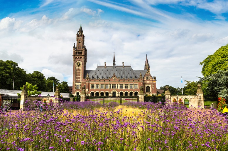 Peace Palace in Hague