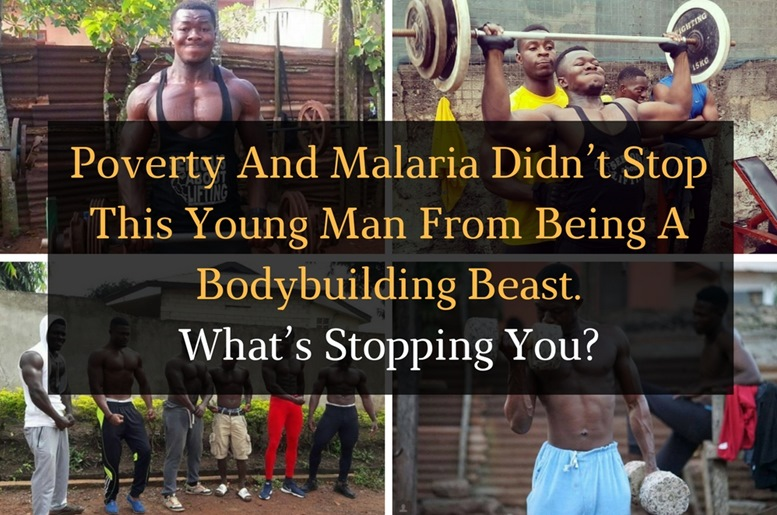 Poverty And Malaria Didn't Stop This Young Man From Being A Bodybuilding Beast. - Featured Image