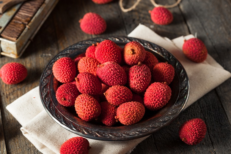 Red Lychees (Unpeel)
