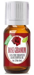 Rose Geranium - 100% Pure, Best Therapeutic Grade Essential Oil