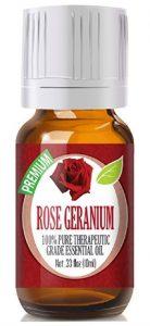 Rose Geranium - 100% Pure, Best Therapeutic Grade Essential Oil