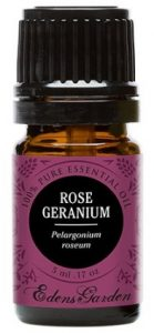 Rose Geranium 100% Pure Therapeutic Grade Essential Oil by Edens Garden