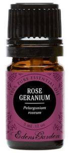 Rose Geranium 100% Pure Therapeutic Grade Essential Oil by Edens Garden