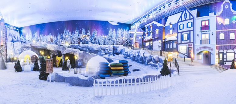 Snow World City - Genting Highland - Interior