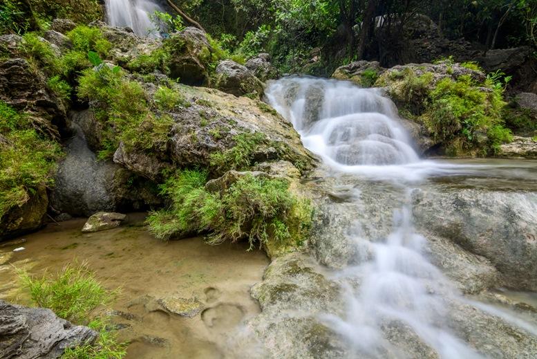 Sri Gethuk Waterfall Stairway