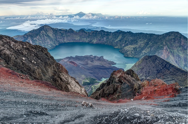 The Summit of Mount Rinjani