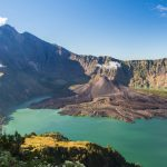 The crater of Mt.Rinjani in Lombok island, Indonesia
