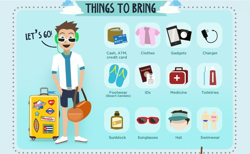Things to Bring to Boracay - Infographic image #3